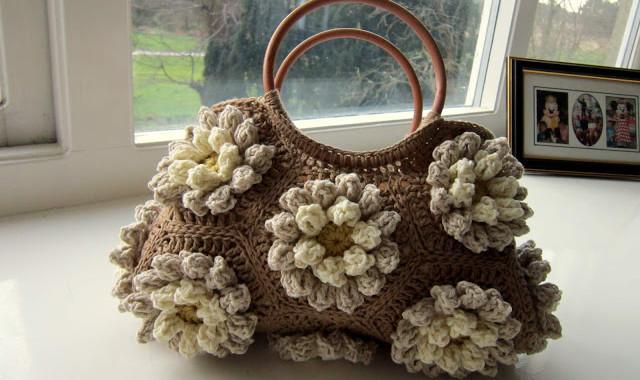 Almond Blossom Bag
