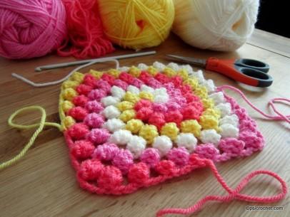 Granny Bobble Spiral