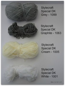 Stylecraft Special colours
