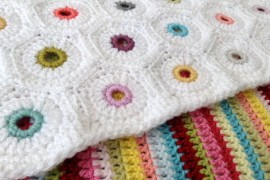 Eyelet Hexagon